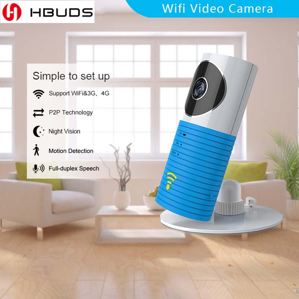 HBUDS 92 Degree Panoramic Camera HD 360 Video VR Cameras Dual Wide Angle Lens Real Time