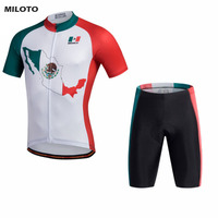 MILOTO Pro Team Men S Ropa Ciclismo Team Cycling Jersey Bib Shorts Kits Bike Race Outfits
