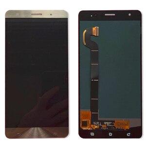 """Image 3 - سريع الأسهم ل ASUS Zenfone 3 ديلوكس Z016S Z016D ZS570KL LCD عرض تعمل باللمس محول الأرقام الجمعية 5.7 """"ل ASUS ZS570KL LCD"""