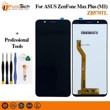 For Asus Zenfone Max Plus M1 LCD Display Touch Screen Digitizer Assembly With Frame X018D X018DC For ASUS ZB570TL LCD Pantalla original for asus zc550tl lcd display touch screen digitizer assembl for asus zenfone 4 max plus zc550tl lcd frame x015d replace