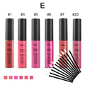 Qibest Makeup Set Lip Gloss Waterproof batom Tint Lip Gloss Brown Nude Matte Lot Makeup Lipstick lip-tattoo-lipstick