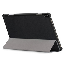 Tablet Case Capa Coque Slim Magnetic Folding Cover Case For Lenovo Tab P10 TB-X705F TB-X705L 10.1inch 2019 Foldable Leather Case(China)
