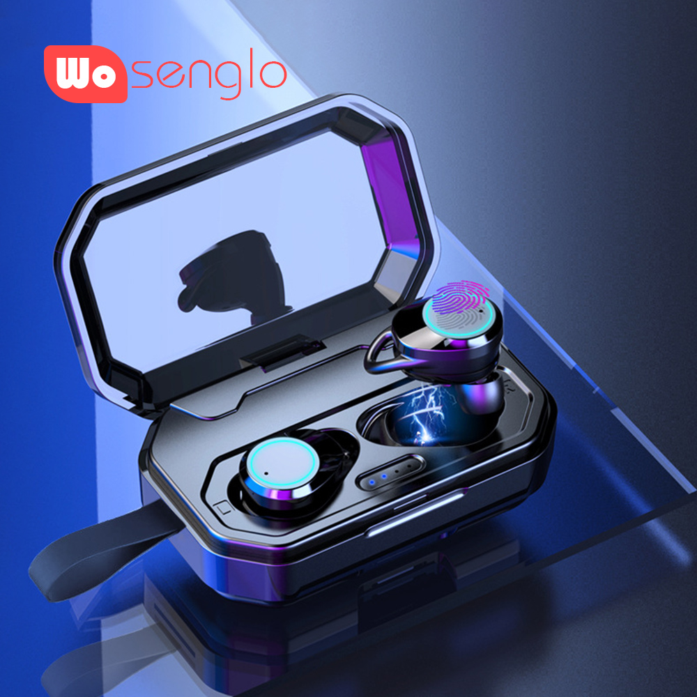Bluetooth 5.0 Earphones earbuds Wireless headphones Game in ear headset IPX67 Music Earpiece For Samsung Xiaomi iPhone LG GoogleBluetooth 5.0 Earphones earbuds Wireless headphones Game in ear headset IPX67 Music Earpiece For Samsung Xiaomi iPhone LG Google