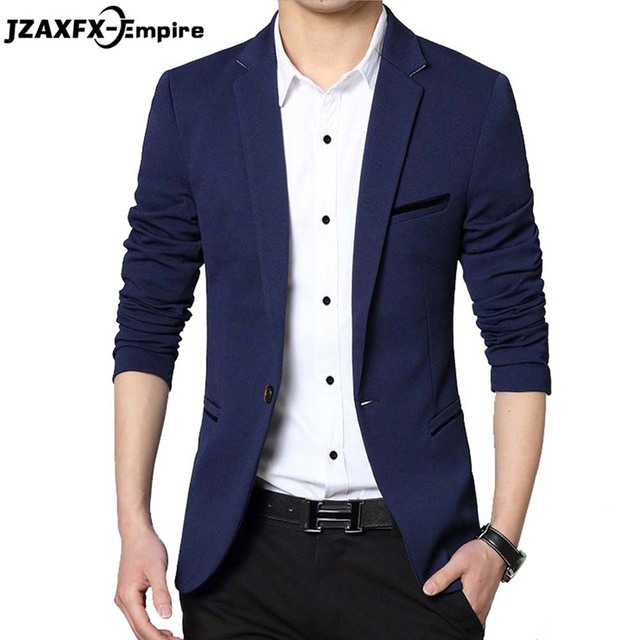 terno masculino Men's Blazer Slim fit Casual Suit For men 5 Colors Men Blazer Masculino M-5XL High Quality Male Suits Jacket