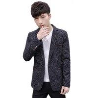 XT1324 hot sale Spring autumn 2018 new men's fashion handsome Youth trend jacket casual suit coat cheap wholesale