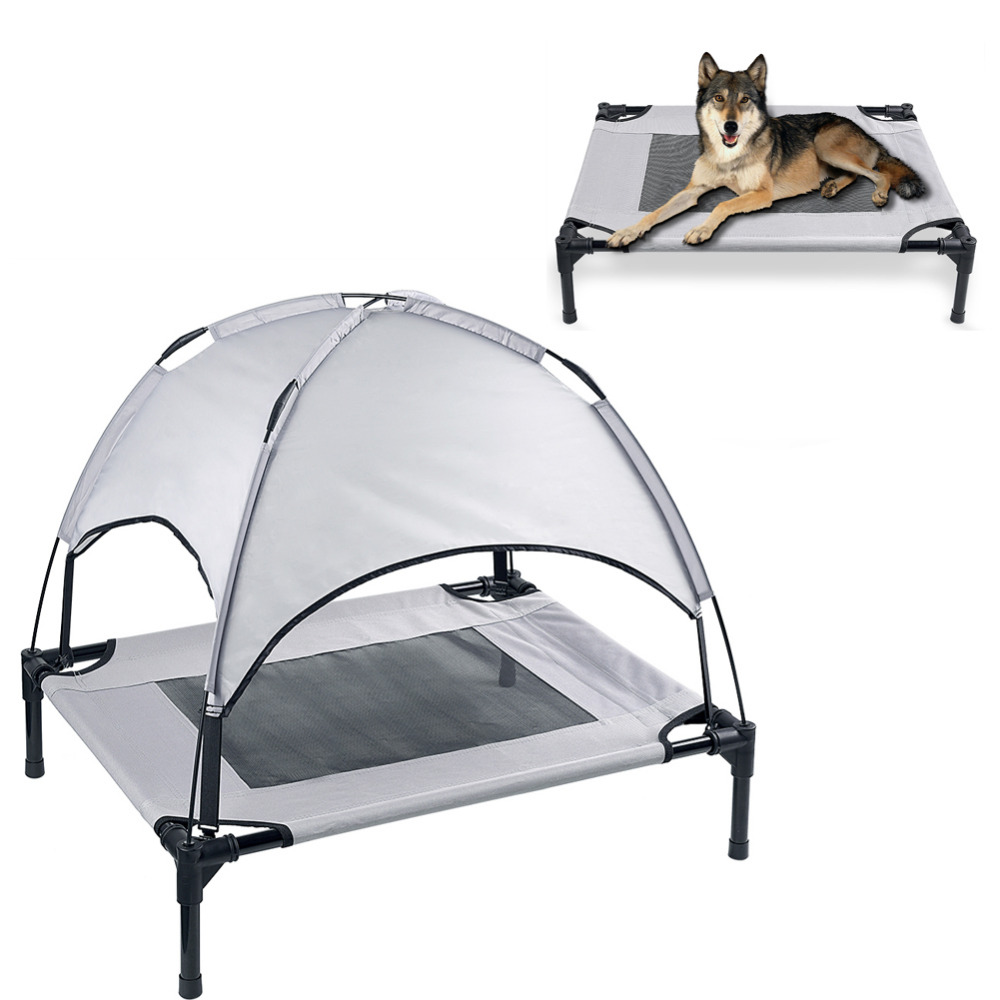 Petacc High quality Pet Bed Elevated Pets Beds Mesh Pad Dog House for Pets, Breathable, Superior Weight Capacity