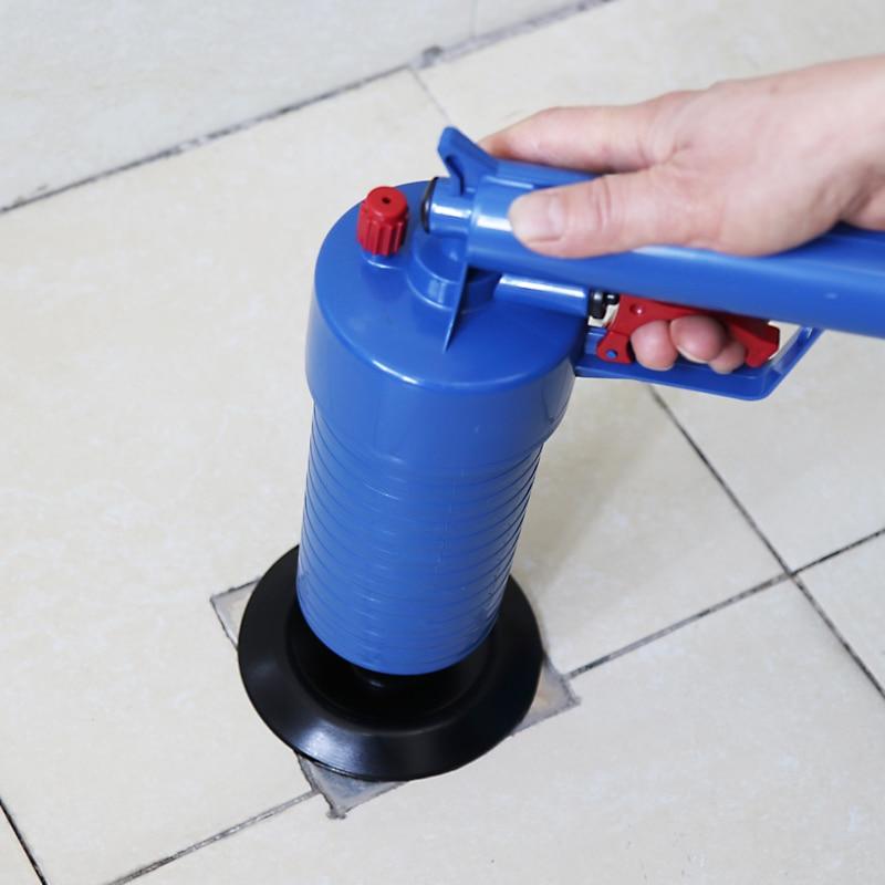 High-Pressure Powerful Manual Sink Plunger And Air Power Drain Blaster Gun For Toilets 2