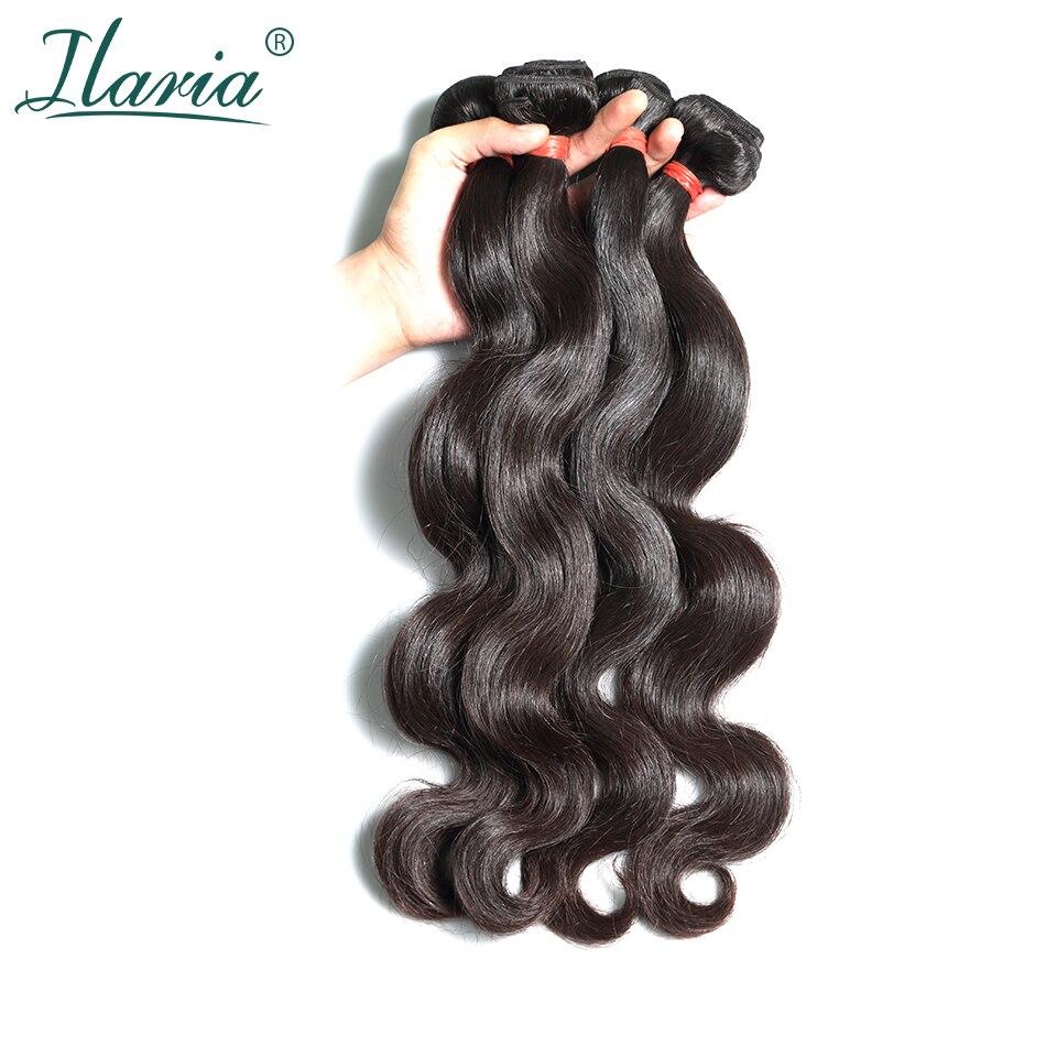 LUXURY ILARIA HAIR Brazilian Body Wave Virgin Hair Bundles Thick & Not Dry 10