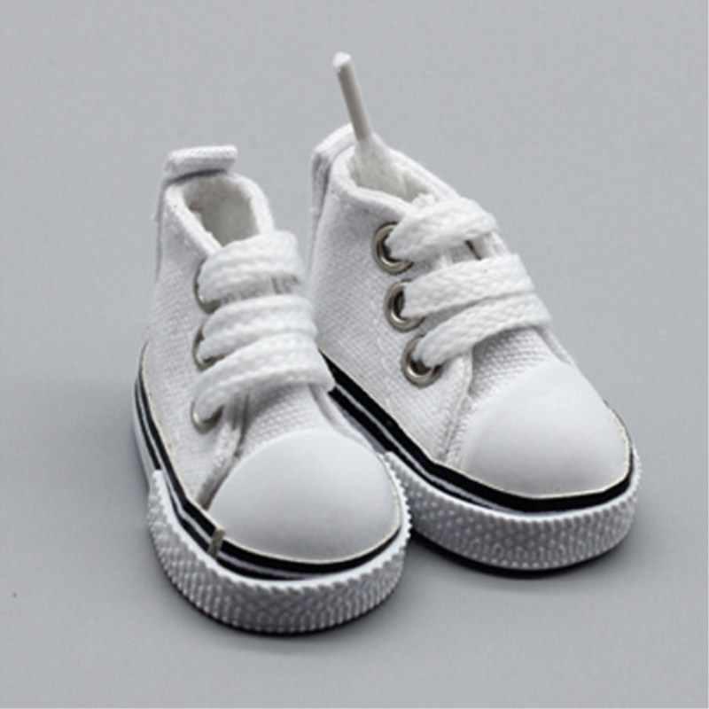 5 см обувь для 1/6 BJD кукла модная Мини парусиновая обувь куклы ручной работы аксессуары обучающая игрушка для детей DIY куклы обувь подарок