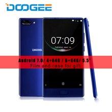 """Doogee Mix 5.5 """"AMOLED ободок-менее смартфон helio P25 Octa core 4 г Оперативная память 64 г Встроенная память Android 7.0 отпечатков пальцев двойной сзади Камера 16.0MP"""