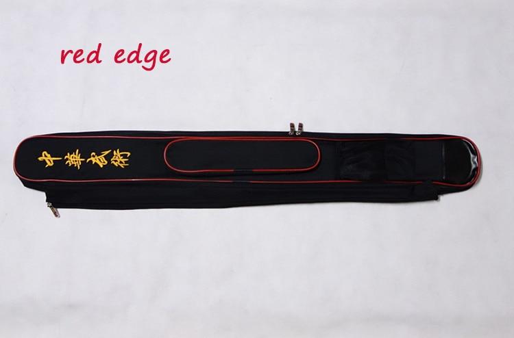 Двойной меч сумка занятий кунг-фу paulin меч 110 см, сумка Меч чехол с палкой сумка