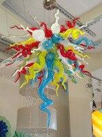 O Envio gratuito de Alta Qualidade Modernas Luzes Coloridas Penduradas Cadeia Lustre|Lustres|Luzes e Iluminação -