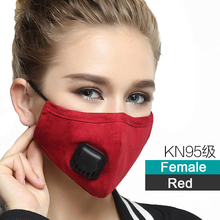 Reusable Anti Haze Adult mouth mask PM2.5 dust mask Cotton Anti-fumes respirator Mask on the mouth adjustable size