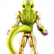 Anime Dragon Ball Z Frieza Figure Toy Golden Freeza Model With Base