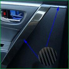Для Toyota Corolla- внутренняя дверная ручка поручень из нержавеющей стали декоративная накладка наклейка 8 шт. автомобильные аксессуары