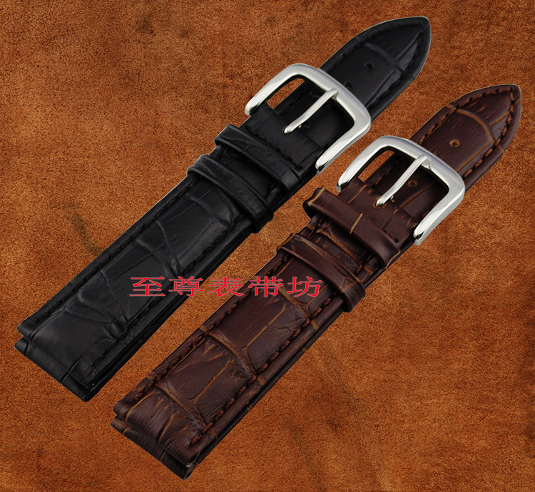 Free shipping High Quality Soft band Genuine Leather Strap stainless Steel Buckle 18mm 19mm 20mm 22mm 24mm 26mm Wrist Watch Band [zob] supply of new original omron omron limit switch ze qa2 2 factory outlets 2pcs lot
