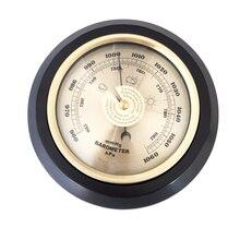 180 مللي متر 132 مللي متر 960 ~ 1060 hPa المنزلية الجدار الشنق مقياس الحرارة الرطوبة مع إطار خشبي تستر أدوات