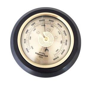 Image 1 - Бытовой Настенный термометр, гигрометр с деревянной рамой, 180 мм 132 мм 960 ~ 1060 hPa