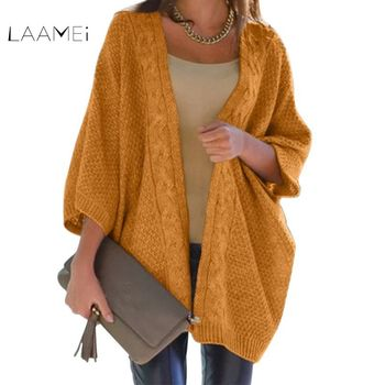 LAAMEI Loose Knitted Sweater