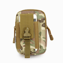 Outdoor Tactical Holster Military Molle Hip Waist Belt Bag Wallet Pouch Purse Phone Case with Zipper Waist Hunting Bags
