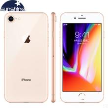 "Original Apple iPhone 8 4G LTE Mobile phone 4.7""12.0 MP 2G RAM 256GB/64GB ROM Hexa-core Fingerprint Camera Cellphone"