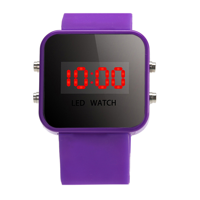 LED Jam Tangan Anak Anak Laki-laki Anak Perempuan Fashion Silikon Jam  Tangan Digital Anak 4a4e3caa56