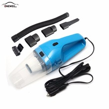 ONEWELL 120W 12V Multifunction Car Vacuum Cleaner Handheld Wet Dry Dual-use  Super Suction  Car Vacuum Cleaner