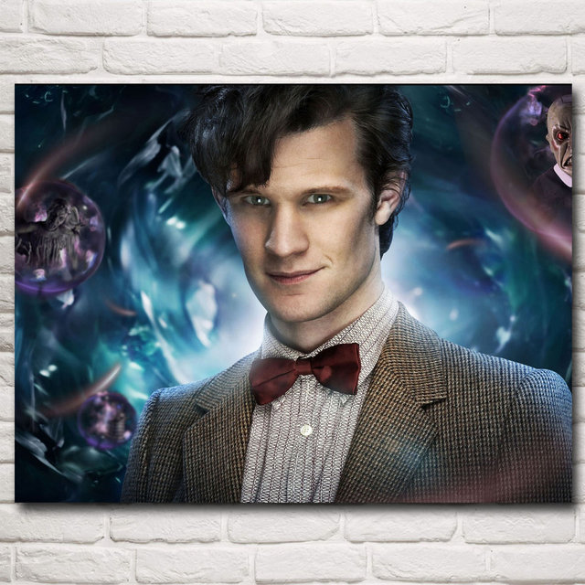 Doctor Who Television Series Art Silk Fabric Poster Print Home Wall Decor Pictures Painting 12×16 18×24 24X32 Inch Free Shipping