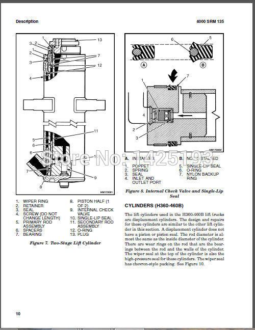 Hyster Seal Wiring Diagram. . Wiring Diagram on