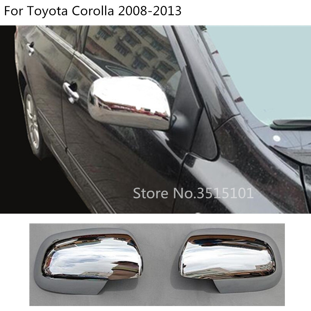 Door Handle Covers Trims For 2014-2018 Toyota Corolla Sedan Chrome Side Mirror