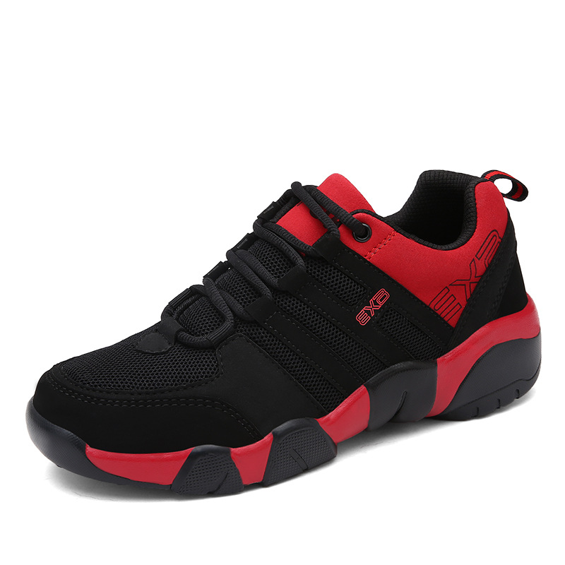 Fashion new shock absorption breathable wear men 39 s running shoes young Men sneakers totem decoration large size man shoes in Men 39 s Vulcanize Shoes from Shoes