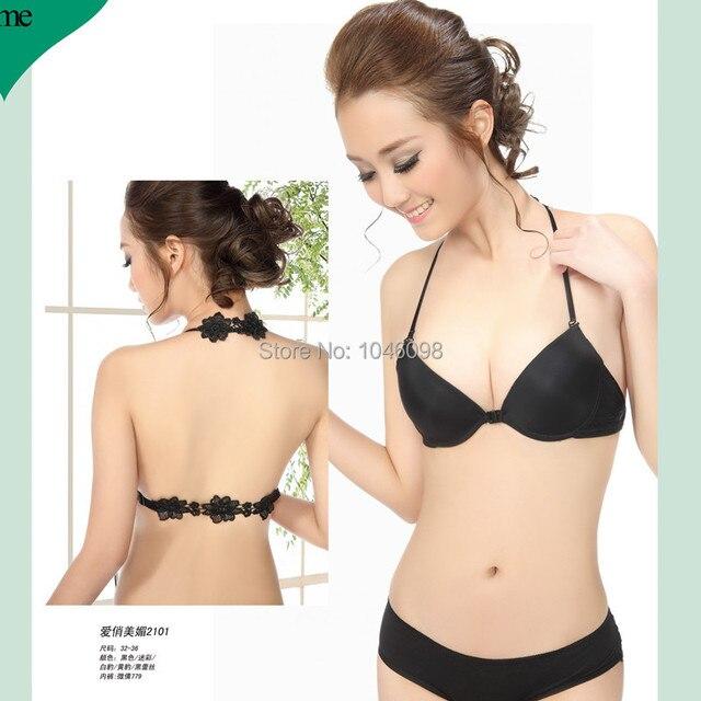f5f16c8e1f7 Sexy bra set Front button 32 70 34 75 36 80 A B cup bra butterfly ...