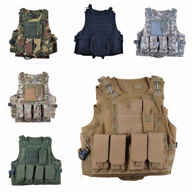 Army Outdoor Outdoors Special Soldier Camouflage Tactical Vest Men 's Seals War Vest