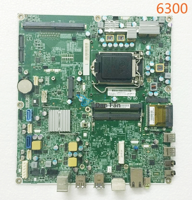US $89 3 5% OFF|656957 001 For HP Compaq Pro 6300 AIO Motherboard 657238  001 11053 1 48 3GH01 011 Q75 LGA1155 Mainboard 100%tested fully work -in