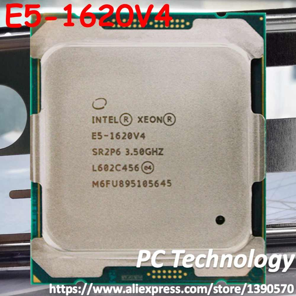 E5-1620V4 Original Intel Xeon OEM version E5 1620V4 3.50GHZ 4-Core 10MB E5-1620 V4 140W E5 1620 V4 LGA2011-3 free shipping