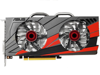 Used, ASUS GTX960 DC2OC 2GD5 Video Card GTX 960 2GB 128Bit GDDR5 Graphics Cards for nVIDIA VGA Geforce Hdmi Dvi game