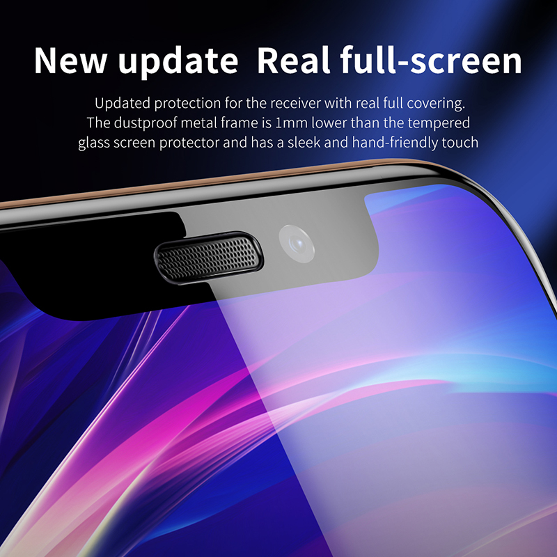 Image 3 - Baseus 3D Screen Protector For iPhone XR 0.3mm Ultra Thin Protective Glass For iPhone Xs X Xs Max 7 8 Tempered Glass Front Film-in Phone Screen Protectors from Cellphones & Telecommunications