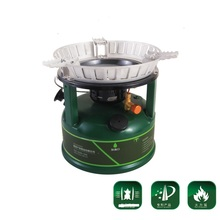 BRS-7 Camping Oil-burning Boiler Furnaces Superpower Oil Stove Power Fire Outdoor Camping Equipment