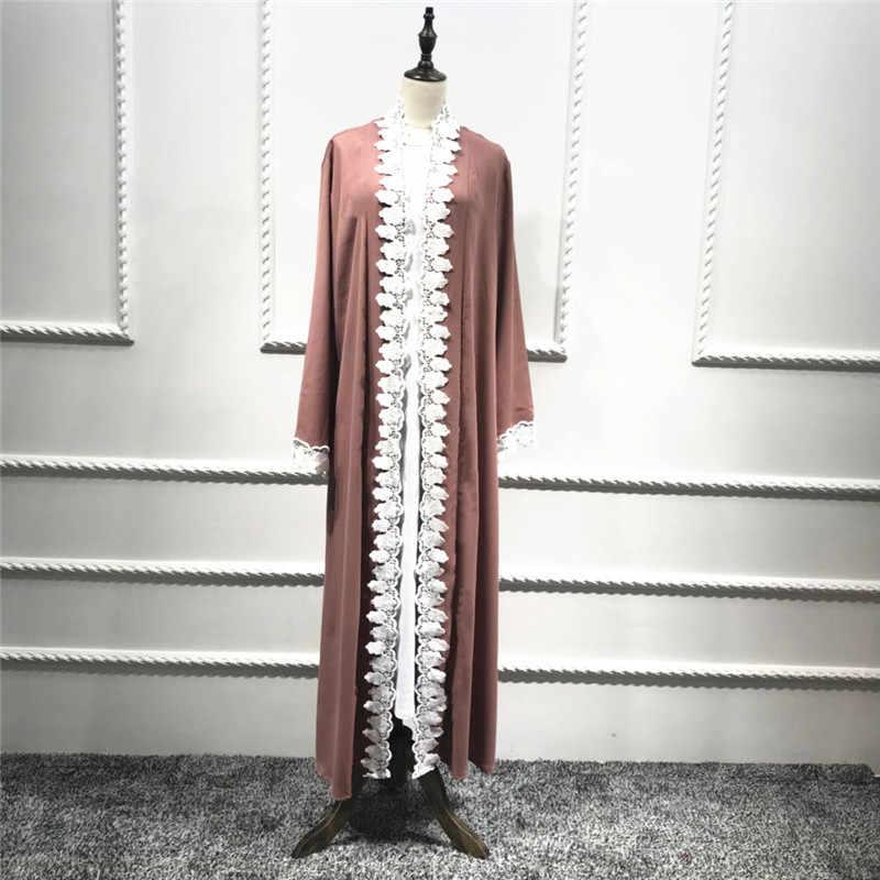 Для женщин Абая Дубай Болеро мусульманский кафтан Marocain Бангладеш турецкий халат Туника кимоно кардиган Малайзии Кафтан Исламская одежда