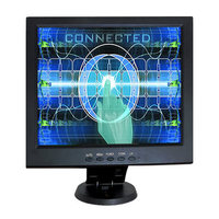 10.4 Inch 5 wire Resistive Touch Screen LCD Monitor with DVI, VGA For PC/POS