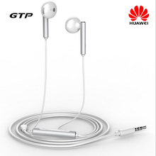 Original Honor AM116 3 5mm In ear Mic Voice Control Headset for Android iOS iPhone Samsung