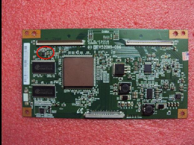 WITH IC TYEP V520h1-c06 34.7m screen original v520h1-l08 logic board