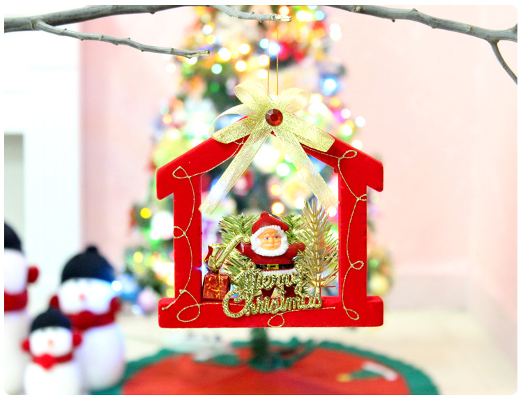 Exquisite Glitter Red Santa Baubles Xmas Tree Hanging Ornament Gift Market School  Christmas Decorations Supplies For Home Natal In Pendant U0026 Drop Ornaments  ...