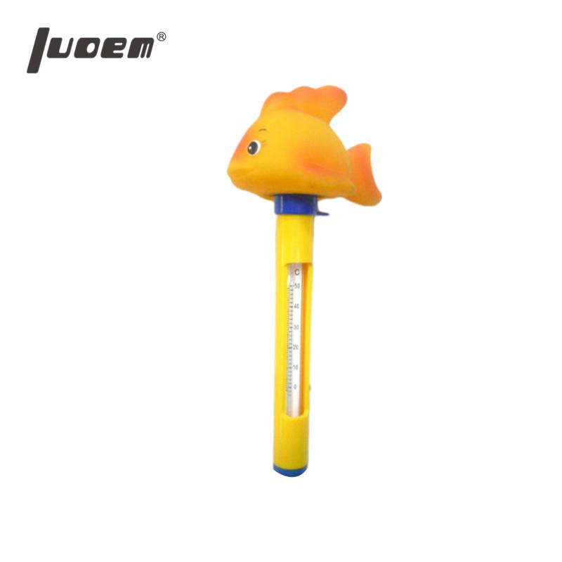 LUOEM Cute Animal Floating Pool Thermometer With String Indoor Outdoor Use For Baby Bathing Swimming Pools Aquariums