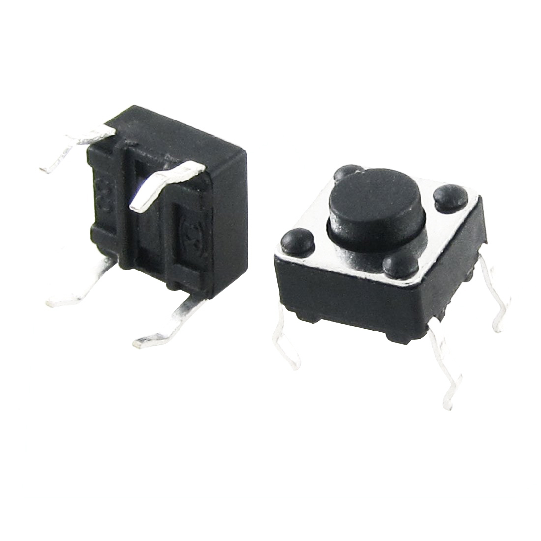 Apprehensive Jfbl Hot 50pcs 6x6x4.3mm Momentary Tactile Tact Switch 4 Pin Dip Through-hole Lights & Lighting Switches