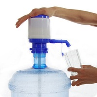 2PCS Plastic Easy Manual Hand Press 5 Gallon Drinking Water Bottle Bottled Dispenser Pump for Home Office School Travel