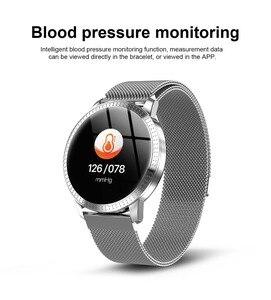 CF18 Смарт-часы для мужчин и женщин, умные часы, контроль артериального давления, мульти спортивные режимы, фитнес-трекер, умный Браслет VS DT78 B57...