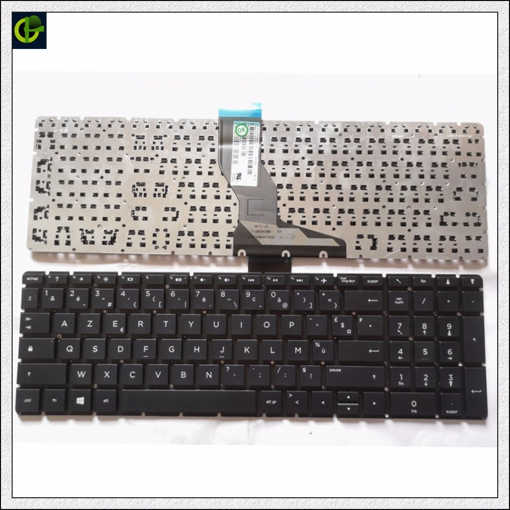 French Azerty <font><b>Keyboard</b></font> for <font><b>HP</b></font> 15-BS 15-BW <font><b>250</b></font> <font><b>G6</b></font> 255 <font><b>G6</b></font> 256 <font><b>G6</b></font> 258 <font><b>G6</b></font> FR image
