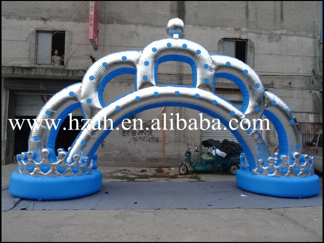 Wedding Decoration Crown Inflatable Arch