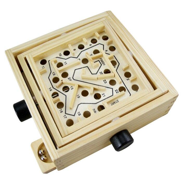 Wooden Maze Children Educational Toys Puzzle Brain Teaser